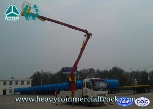 China Hydraulic Telescopic Aerial Work Platform Truck 2 Boom Section  RHD on sale