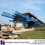 1000 ton underslung movable scaffolding system crane cast in situ