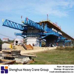 China 1000 ton underslung movable scaffolding system crane cast in situ on sale