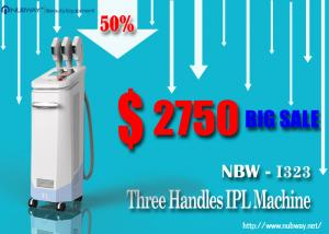 China Painless non-invasive1800 W IPL beauty equipment for hair removal / IPL beauty machine for hair reduction on sale