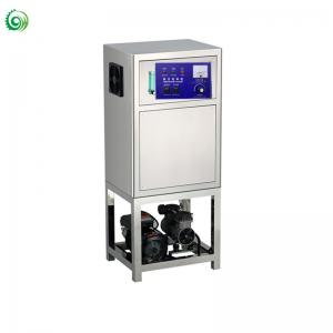 China Hot air and water treatment with mixing pump ozone generator 10g on sale