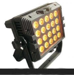 China 18w X 20pcs 6in1 Wash Light Led Stage Lights , High Power Led Wall Wash Flood Light  on sale