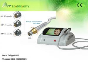 China No down time fractional RF skin tightening micro needle skin care machine with 0.25-3mm on sale