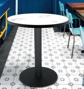 China Bar Table legs Round Table base Cast Iron Hospitality Commercial Table on sale
