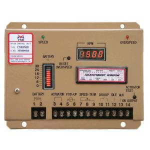 China Engine Generator Parts Digital Speed Controller-Fsk658d Generator Electronic Governor on sale
