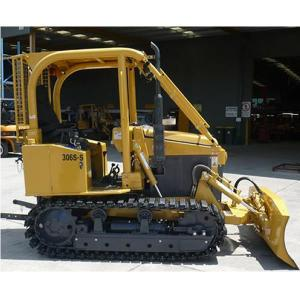 China Mini track tractor with six-action blade crawler bulldozer optional with EPA diesel engine on sale