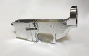 China 80% Billet AR15 Lower Receiver Raw on sale