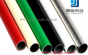 China 28mm standard stainless steel pipe(tube) for Industrial rackings,trolleys,storage shelves,pipe racking on sale