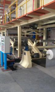 China NCR Automatic Carbonless Copying Paper Coating Machine , 100-250m/min on sale