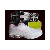 China Nike Shox R4 Women's Shoes white with pink on sale