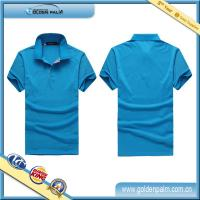 China High Quality custom cheap 100% cotton polo shirts with company logo on sale