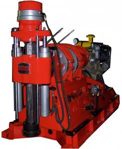 China Core Drilling Rig Powerful Drilling Capacity on sale