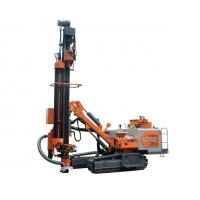 China Hydraulic Submersible DTH Drilling Rig For 90 - 152mm Blasing Hole 93kw Power on sale
