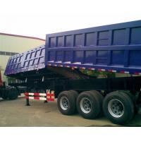 Garden Landscape Dump Truck Trailer With Hydraulic Cylinder Lifting system