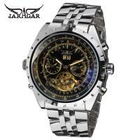 Fashion Brass Band Black Dial Mens Automatic Watch ,swiss wrist watch