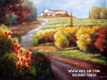 Buena calidad de la pintura de Strect de la pintura al óleo
