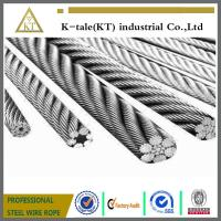 AS,DIN,GB 1x7 zinc coated aircraft cable