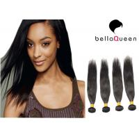 China Natural Looking Silky Straight Brazilian Virgin Human Hair With Natural Black on sale