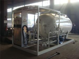 China 2020s new manufactured lowest price chengli new mini skid lpg filling station for sale, gas cylinders filling plant on sale