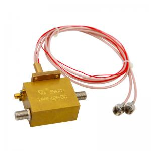 China Dual Channel Coax Rotary Joint Transmitting HF Signal & DC Current with 2 Million Turns supplier
