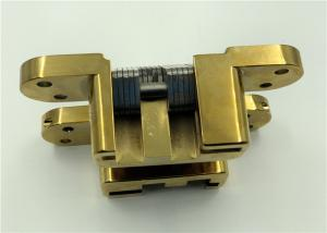 China PVD Coated Adjusting Hidden Hinges / Durable Adjustable SOSS Hinges on sale