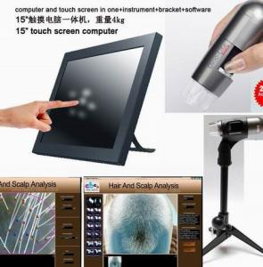 China Effective Hair Analyzer Machine for Detection of hair follicle disease &sebaceous glands on sale