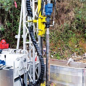 China YH-200G Hydraulic Feeding Drilling Rig Equipment Portable drilling rigs on sale