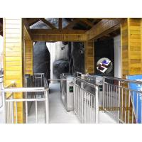 Automatic Barcode / Qr Code Turnstile Ticket Management Systems For Tourist Area , Museum , Cinema Entrance