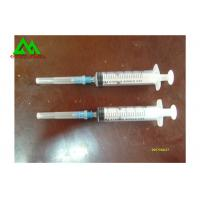 Sterile Medical And Lab Supplies Disposable Syringe With Needle 3cc / 5cc / 10cc / 20cc