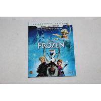 2016 Blue ray Frozen 2discs cartoon dvd Movies disney movie for children DHL free shipp