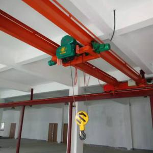China China Mingdao Brand Electric Hoist Type Double Girder Overhead Crane 5 ton on sale