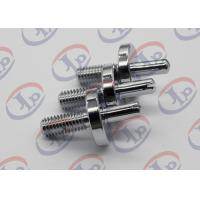 CNC Milling Metal Lathe Services Nickel Plated Iron Bolts with slotted