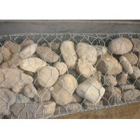 High Zinc Coated Hexagonal Gabion Box Control And Guiding Water And Flood 2mx1mx1m