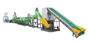 China CE Approval PET Bottle Recycling Line ,  PET / Waste Plastic Recycling Machine on sale
