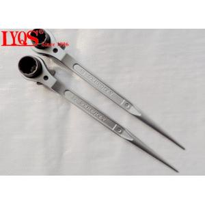 China 19mm 22mm Scaffold Ratchet Wrench Double Sides Scaffold Socket Wrench Tools on sale