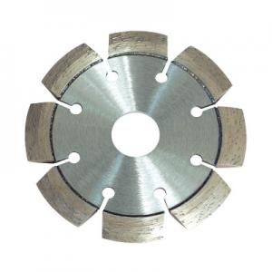 China Abrasion Resistant Diamond Cutting Blade Laser Welded For Grooving And Cutting Out Cracks on sale