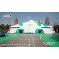 China Waterproof 30m Width Clear Span PVC And Aluminum Marquee For Exhibition on sale