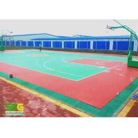 China Indoor Sport Court Surface Flooring / Shock Absorbing Flooring Fastest Tennis Court Surface on sale