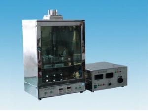 China ステンレス製の燃焼性テスト器具LDQの誘電性のテスター44 - 55の低下/cmの³の滴りのサイズ on sale