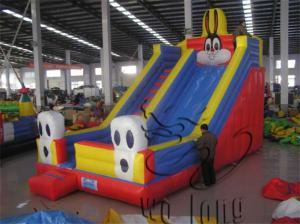 China inflatable bouncer slide, inflatable dry slide, giant inflatable slide for sale on sale