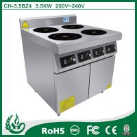 China 4 burner induction Cooking Range for restaurant on sale