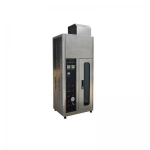 China IEC60695-11-03 Fire Testing Equipment Single Cable Vertical Flammability Tester on sale