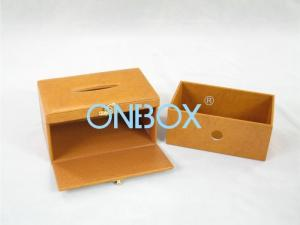 China Folding cardboard packing boxes / wedding gift card box with drawer and tray on sale