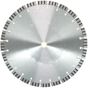 China 20 Inch Laser Welded Diamond Cutting Tools For Cured Concrete , Reinforced Concrete on sale