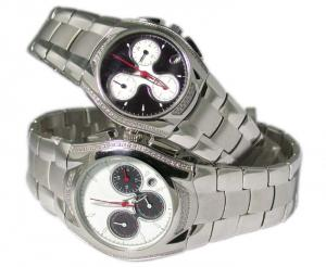 China Nickel free Metal japan quartz pair watch for lovers on sale