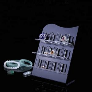 China Transparent custom design acrylic bracelet display on sale