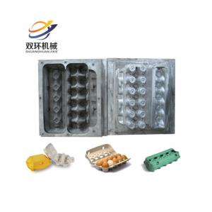 China semi automatic small molded pulp paper chicken egg tray making machine on sale