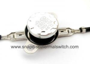China 125A 3 Deg C Snap Action Thermostat Used In Refrigerator Rice Cooker KSD301 on sale
