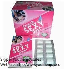 China French Oral Sex Gum for Women on sale