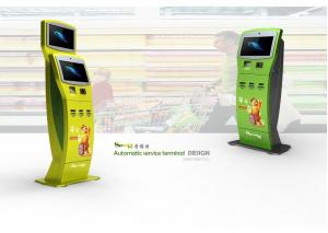 China Multi Functional Telephone / Transport Card Charging, Bill Payment Lobby Kiosk on sale